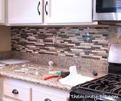 How To Do Tile Backsplash by How To Install A Pencil Tile Backsplash And What It Costs The