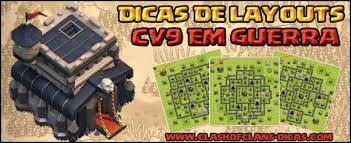 layout vila nivel 9 clash of clans layouts de guerra para cv 4 jaum clan