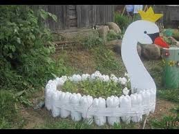 decoration from waste material extraordinary creative garden craft