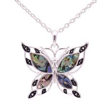 free green butterfly necklace u2013 helping animals at risk
