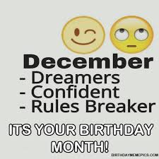 December Birthday Meme - happy birthday meme pics
