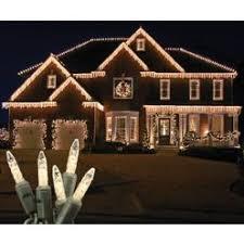 led icicle lights warm white