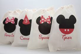 mickey mouse gift bags mickey minnie favor bags