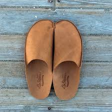 mens leather bedroom slippers mens leather slippers for men leather house shoes for men handmade