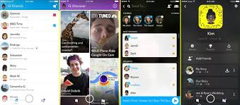 snapchat updates design with increased focus on friends - Snapchat For Android