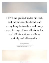 wedding quotes emily bronte i the ground his and the air his and