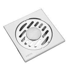 stainless steel anti blocking floor drain bathroom square shape