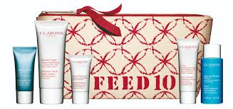 clarins style matters clarins feed purse with products 2015