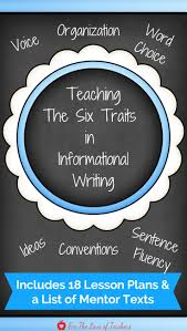 top 25 best six traits ideas on pinterest six trait writing