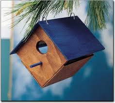 make your own bird house wood craft project kit arts