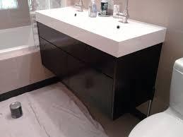Ikea White Bathroom Cabinet by Contemporary Bathroom Vanity Ikea Wall Mounted Vanity Solid Wood