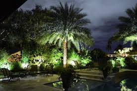 landscape lighting installation plant professionals miami fl