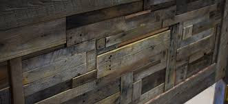 Pallet Wood Headboard Rustic Headboard From Salvaged Pallet Wood