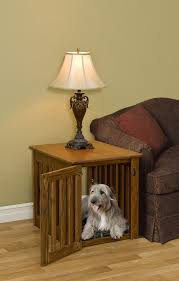 Making Wooden End Tables dog crate end table home design by john