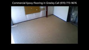 commercial epoxy flooring greeley chemical lab by seal colorado
