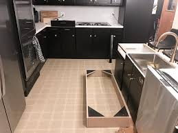 can you paint kitchen cabinets black how to paint black kitchen cabinets our kitchen renovation