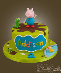 George Pig Cake Decorations 26 Best Peppa Pig Cakes Images On Pinterest Peppa Pig Cakes