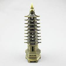 eiffel tower decoration wang career feng shui ornaments vintage