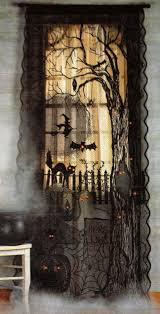 halloween decor curtains windows follow board https www
