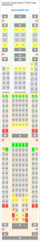 Boeing 777 Seat Map C Chart Template ✈ How Professional Word Templates Food Menu
