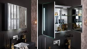 allure mirrored cabinets www crosswater co uk youtube