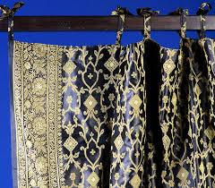 Sari Fabric Curtains Indian Print Shower Curtains Pictures To Pin On Thepinsta