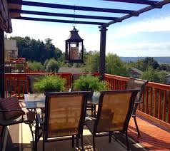 the tuscan home tuscan style deck