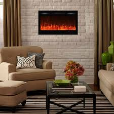 Electric Fireplace For Wall by Touchstone 80014 Sideline 36 Recessed Electric Fireplace 36