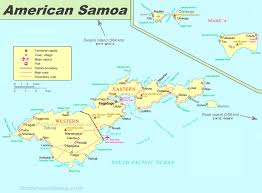 map samoa large detailed map of american samoa