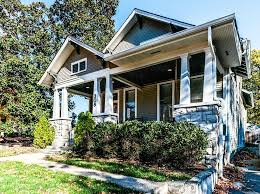 remodeled 1915 craftsman bungalow in nashville with a completely