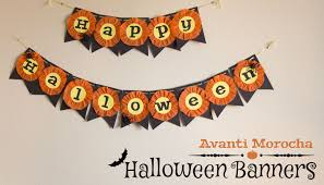 how to make a halloween banner diy halloween banners decorations decoraciones youtube