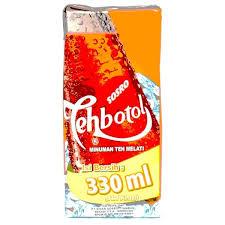Teh Kotak Sosro 330ml produk