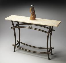 Iron Console Table Adjustment For Wrought Iron Console Table Home Decorations