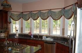 Kitchen Bay Window Curtain Ideas Kitchen Bay Window Ideas Free Home Decor Oklahomavstcu Us
