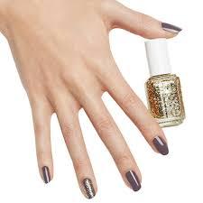 essie bold gold accent nail polish nail art essie looks