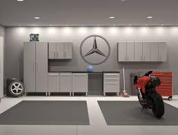 mercedes benz emblem garage interior wall decal sticker