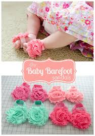 craftaholics anonymous how to make barefoot sandals for babies