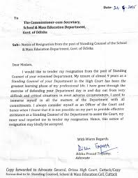 collection of solutions resignation letter for government employee