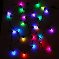 rgb light string 24 count teklights