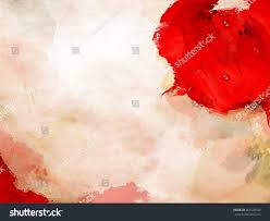 Red Paint by Stain Red Paint Over Background Grunge Stock Illustration