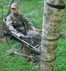 gun holder treewalker treestands