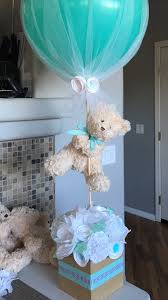baby shower for boys centro de mesa para baby shower hecho de flores de papel y