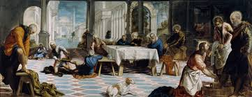 category jesus christ washing the feet of the apostles by jacopo