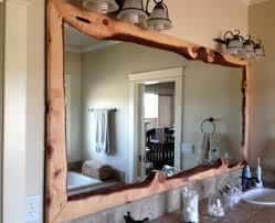 mirror illustrious wooden mirror with lights dazzling wooden