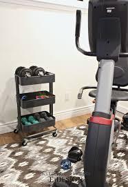 ikea raskog hack ikea hack idea for raskog home gym mini organization for weights