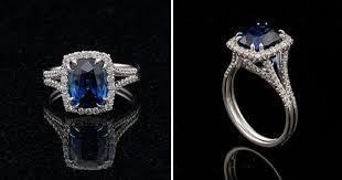 diamond rings sapphires images Non traditional engagement rings what the sapphire symbolizes jpg