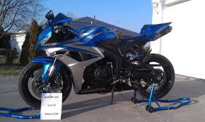 honda 600rr 2007 2007 cbr600rr blue silver 6750 600rr net