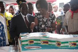 zimbabwean president mugabe holds massive birthday party ny