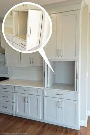 Kitchen Cabinet Garbage Drawer Best 10 Hidden Microwave Ideas On Pinterest Kitchen Island