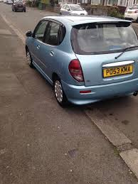 2003 53 daihatsu sirion 1 3 petrol 81000 miles in blackley